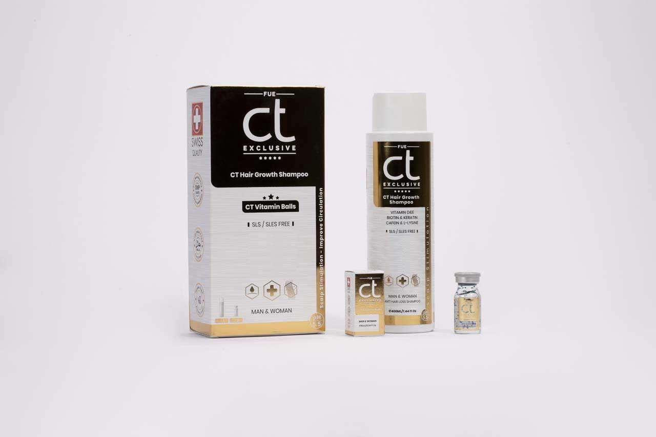 CT Exclusive shampoo & vitamine balls